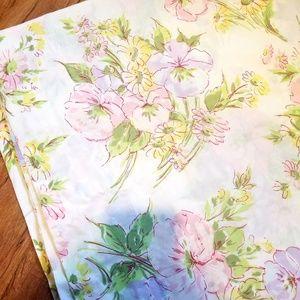 Vintage Floral Fabric, Bedsheet